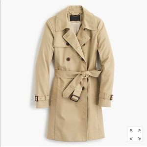 NWOT Jcrew Collection Icon Trench coat